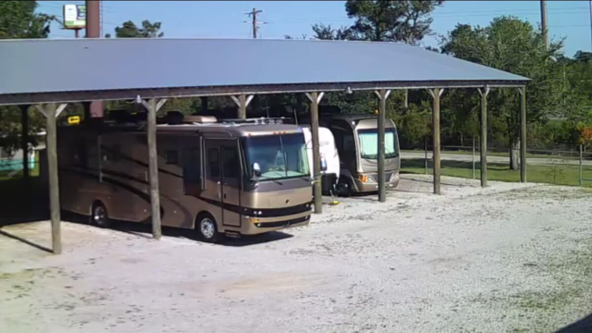 Image 0 of our storage park in Biloxi | Allure RV Park